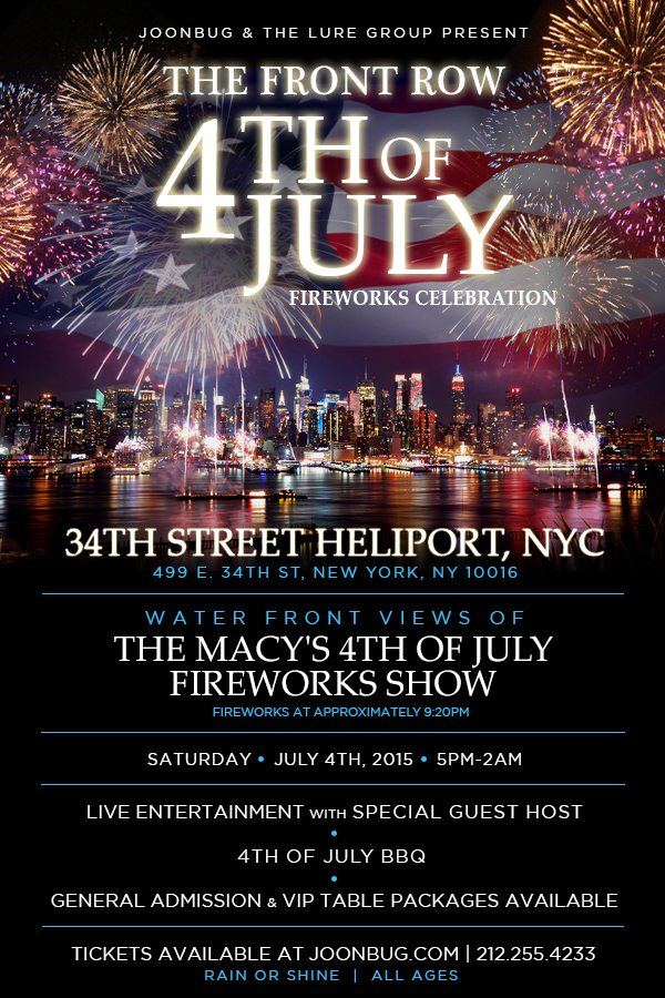 Where to Watch the 4th of July Fireworks Downtown