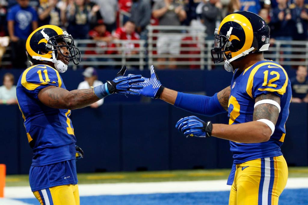 on sale 7034b 7386b L.A. Rams to wear throwback uniforms for home opener this ...
