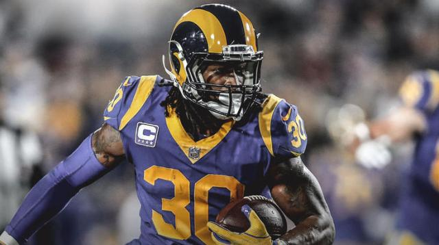 Todd Gurley a key peice of the Ram's attack