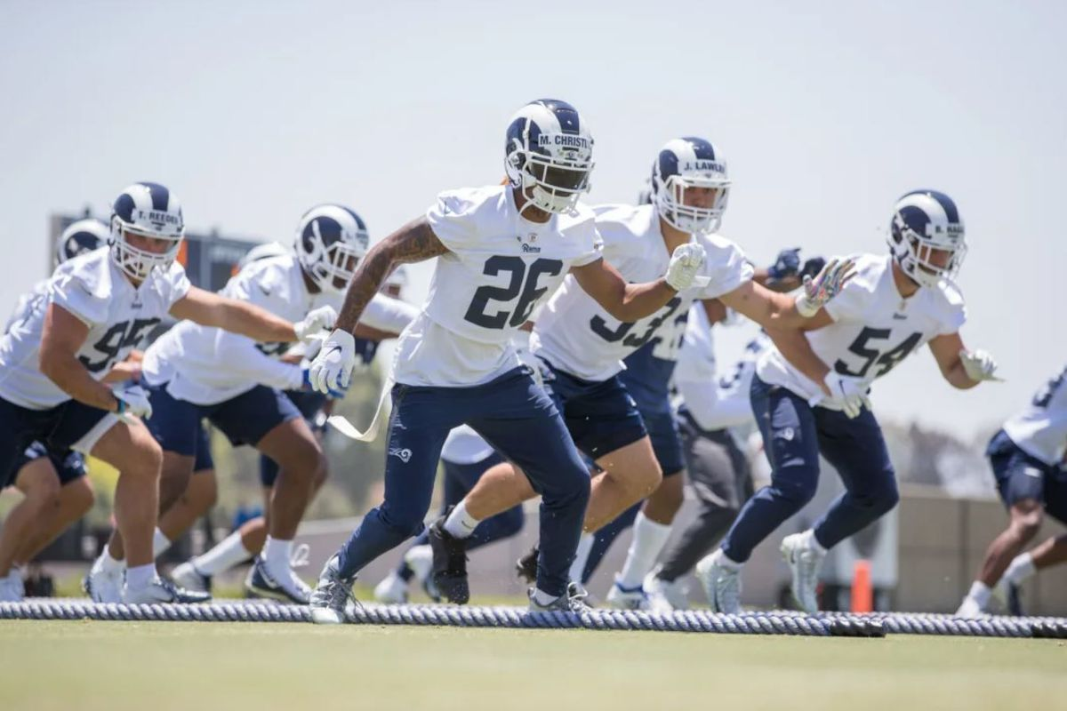 Los Angeles Rams Pre Training Camp 53 Man Roster Prediction Downtown Rams