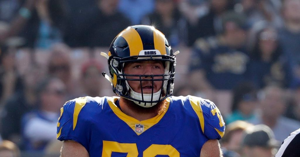 Los Angeles Rams 90 Man Roster Preview Center Aaron Neary
