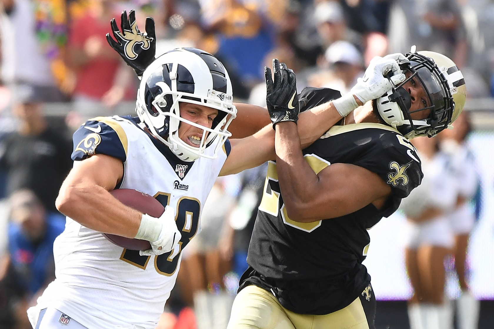 Los Angeles Rams Cooper Kupp Is Back And He Might Be Primed For A Juju Smith Schuster Esque Rise Downtown Rams