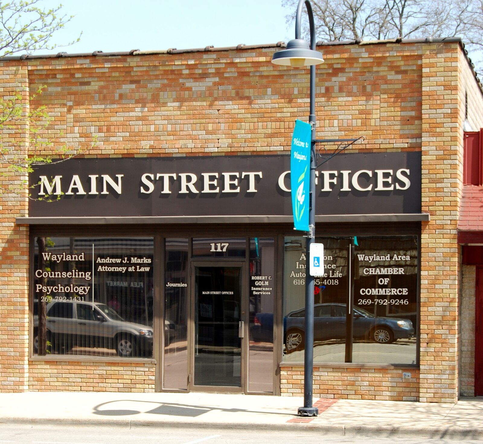 Fa§ade Spotlight Downtown Wayland Main Street
