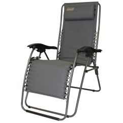 Coleman Chair Accessories Box Stand Flat Fold Layback Lounger Charcoal Grey Ebay