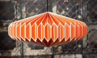 Origami Light Shades: Geometric Paper Lamp Shades