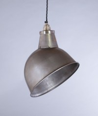 Industrial Lamp Shade Raw Steel Oulton Factory Light Shade