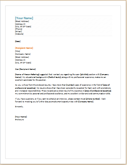 11 professional and business cover letter templates