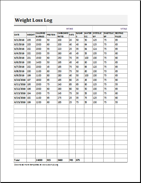 Visitors Log Template For MS EXCEL And Calc Document Hub