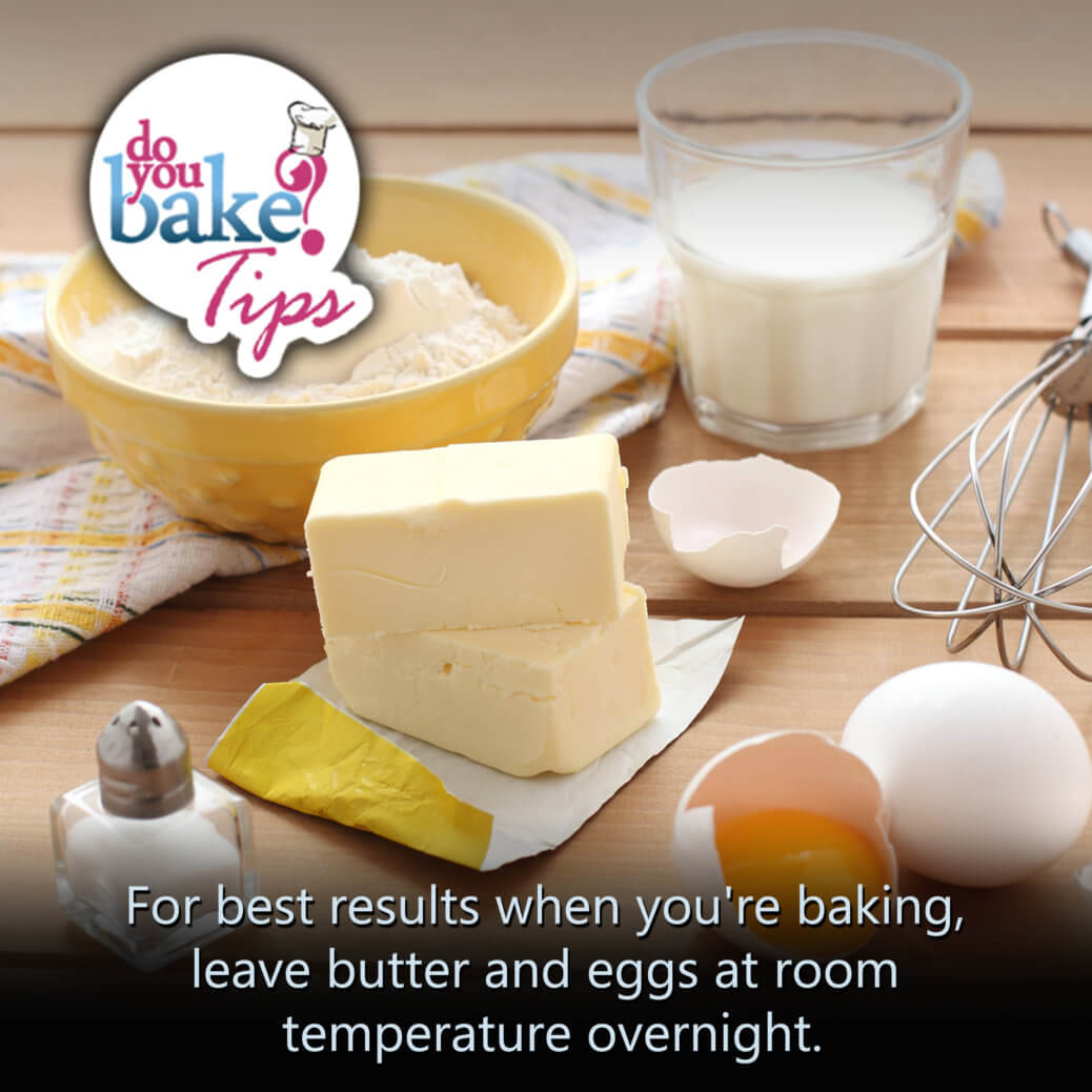 Butter and eggs  Do You Bake