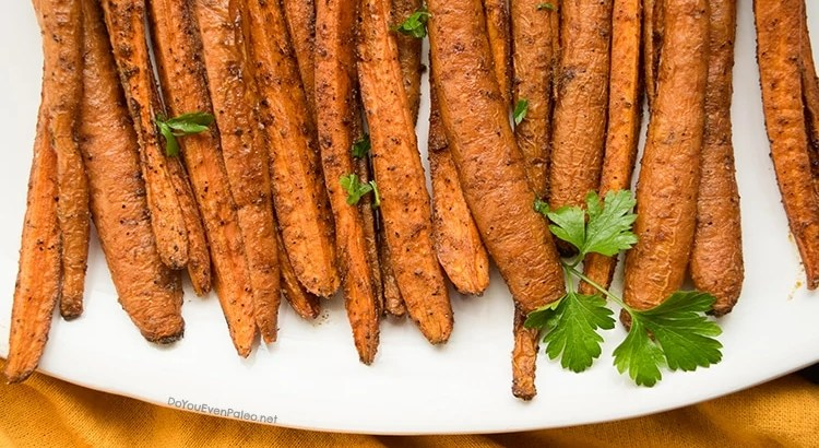 Cinnamon Cumin Roasted Carrots   DoYouEvenPaleo.net