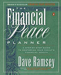 financial peace planner book by Dave Ramsey