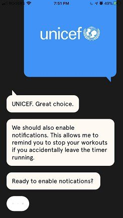 charity miles app charity confirmation