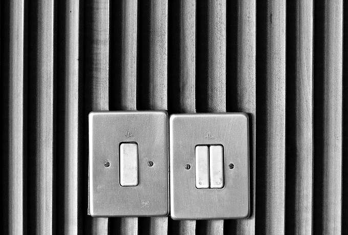 turn off lights when not used