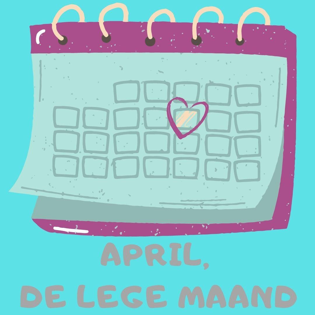 April, de lege kalendermaand