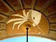 ornamented apse