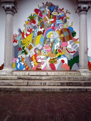 Venice Greek Pavillion entrance