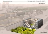 mittelstrasse city apartment bird view