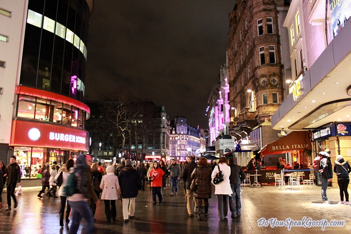 Places Eat Leicester Square