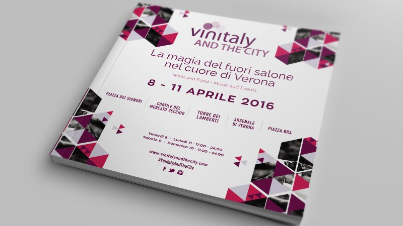Vinitaly and the City - Brochure (Cover)