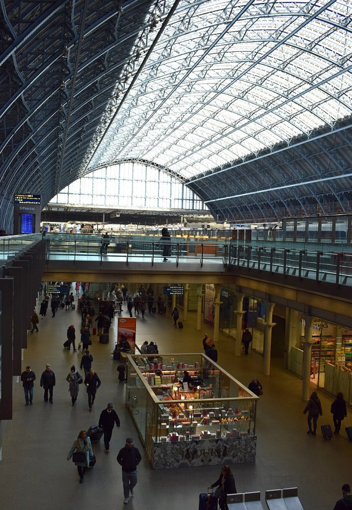 St Pancras Doyouspeaklondon Lifestyle London Blog