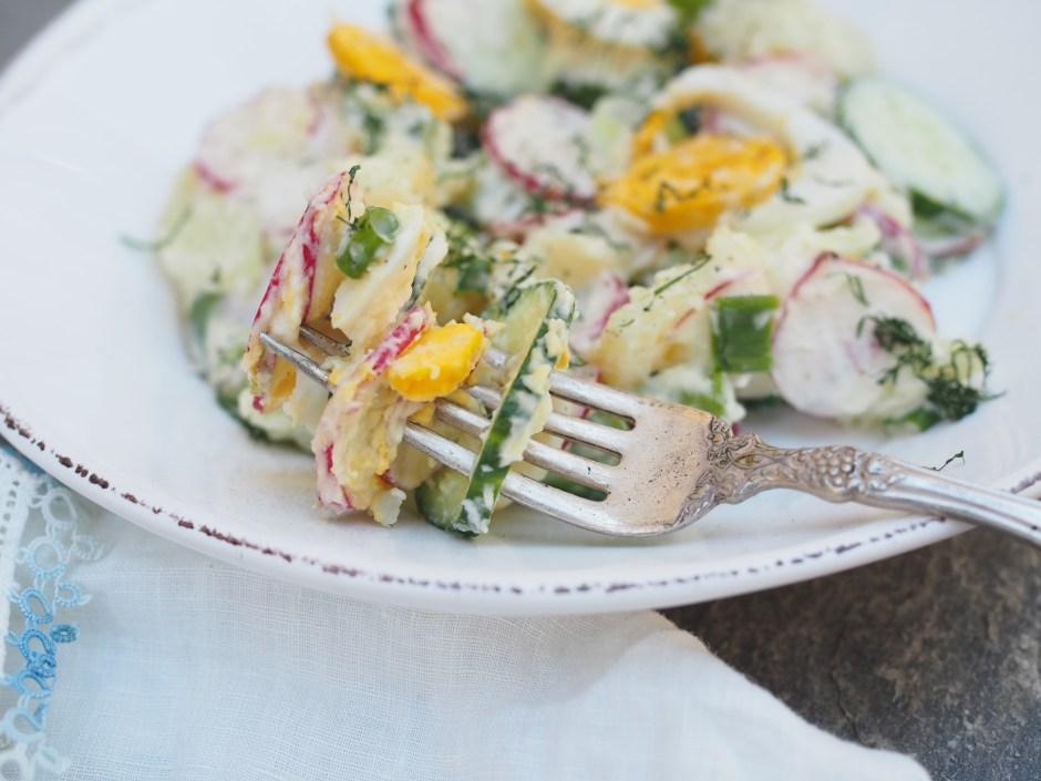 Norwegian Spring Potato Salad