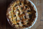 Rhubarb and Juniper Berry Pie
