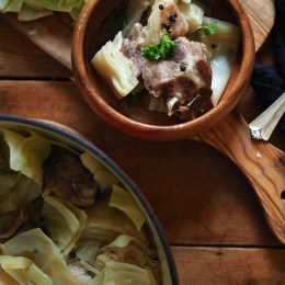 Fårikål (Norwegian Lamb and Cabbage Stew)
