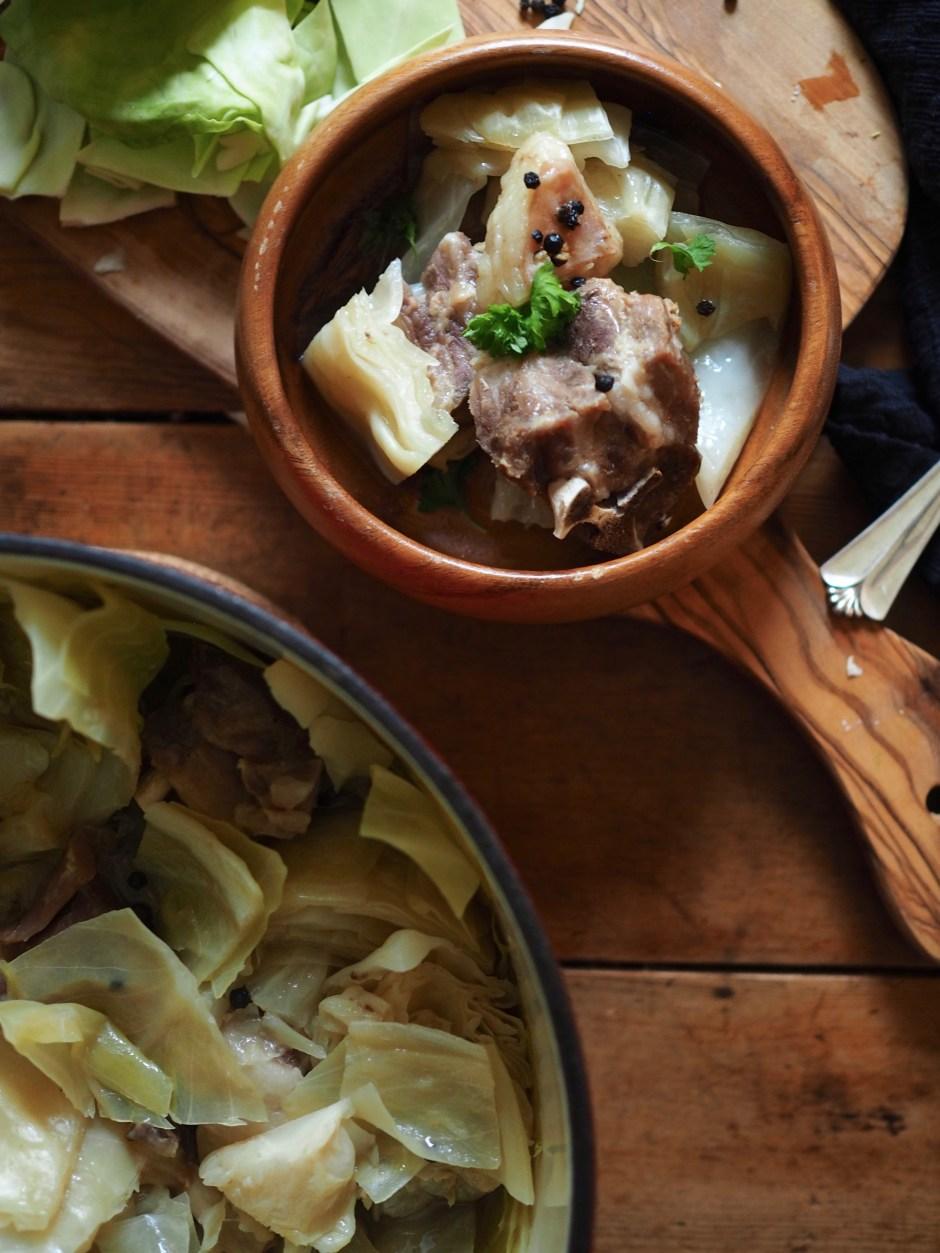 Fårikål (Norwegian Lamb and Cabbage Stew)