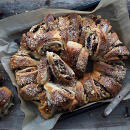 Glitrekringle (Maj-Lis's Norwegian pastry with raisins and nuts)