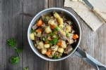 Norwegian Beef and Vegetable Stew (Brun Lapskaus)