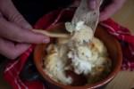 Baked Salt Cod with Potatoes and Celeriac