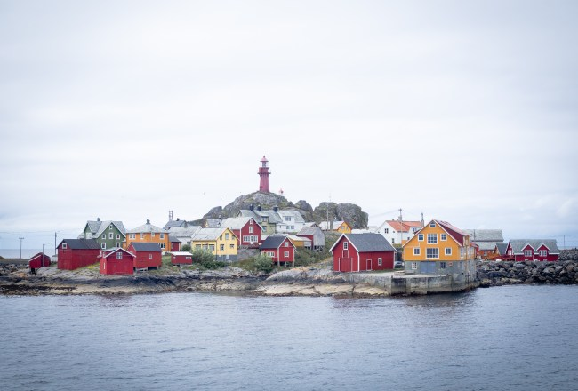 Ona, Norway and Crab Fishing