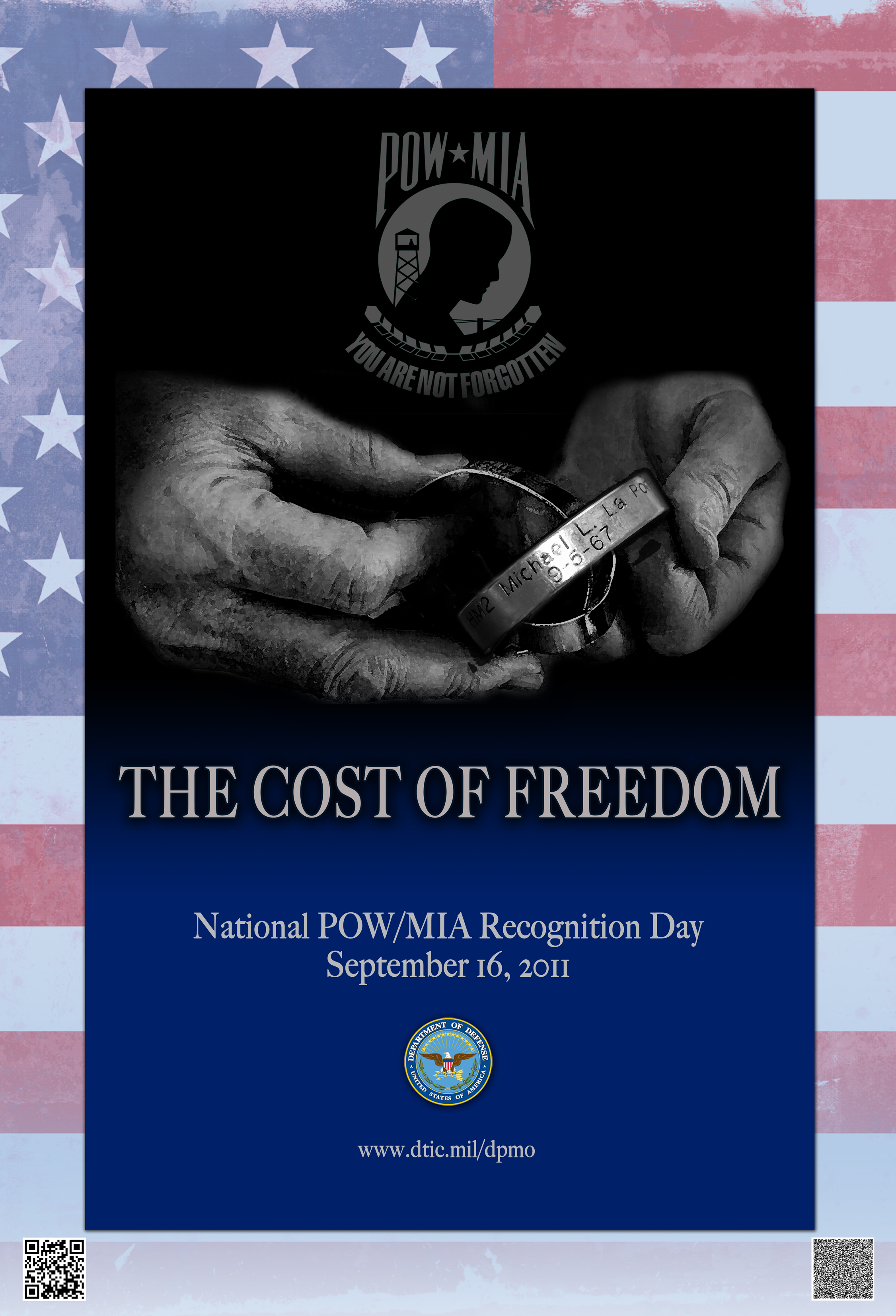 Defense POWMIA Accounting Agency Gt Families Gt Posters