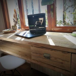 dpales escritorio madera reciclada