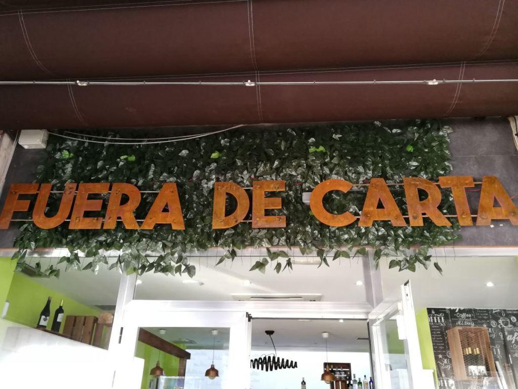 Restaurante Fuera de Carta