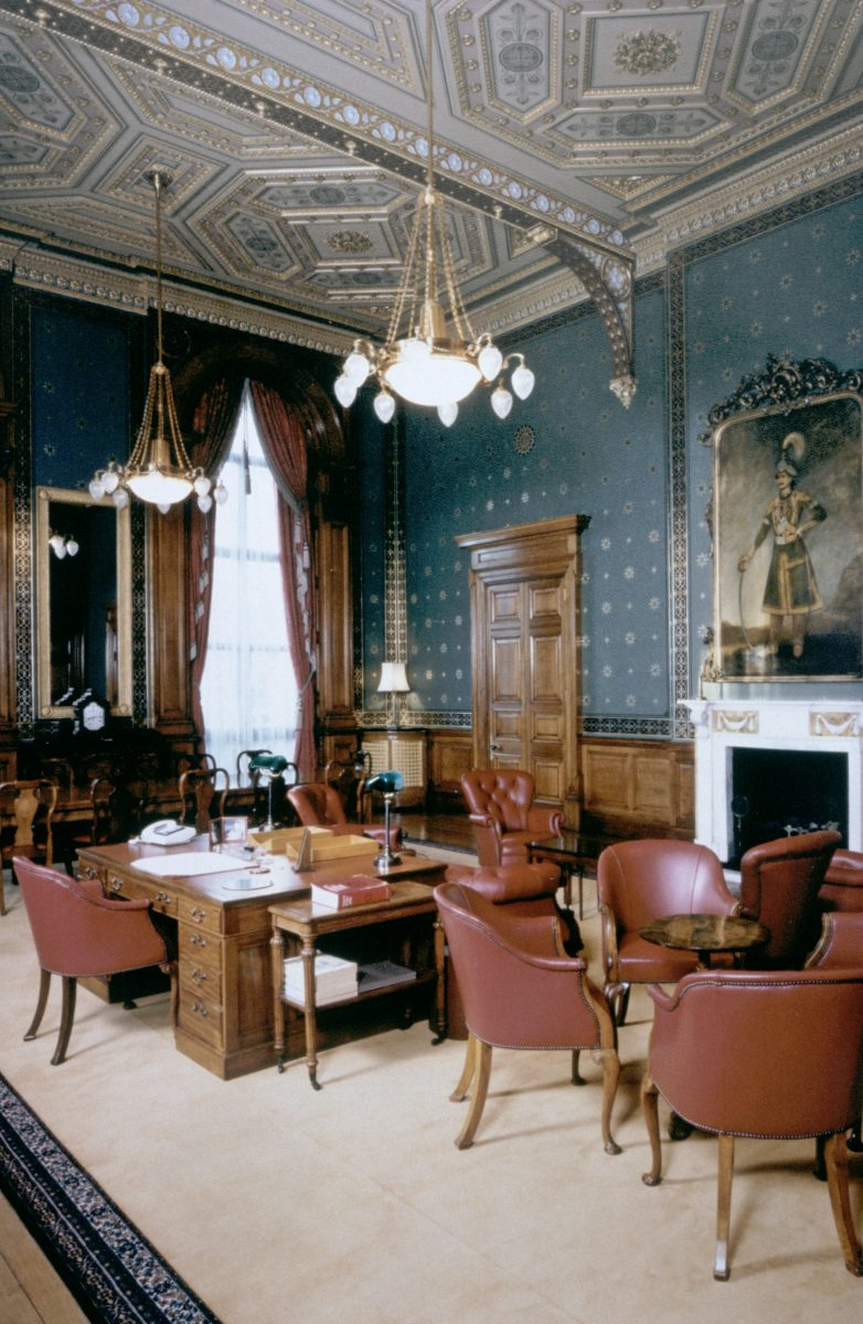 Foreign Secretarys Office London Dpa Lighting