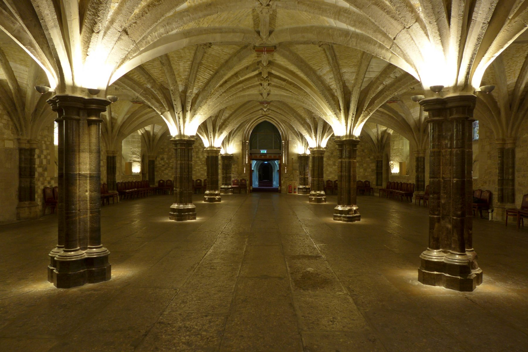 Guildhall London Crypts London  dpa lighting consultants