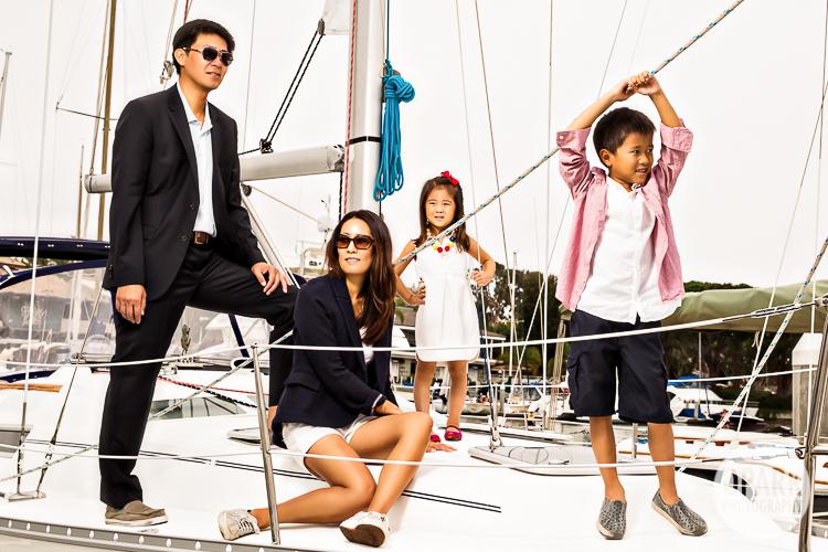 Balboa Marina Newport Beach Family Pictures  Celebrity Destination OC LA Worldwide Wedding