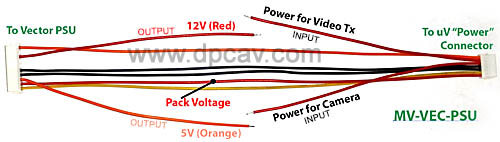fpv with five wire wiring diagram