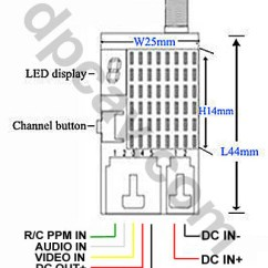 Fpv Transmitter Wiring Diagram 2002 Ford Transit Stereo Digital Products Company Dpcav Your Drone Equipment Store