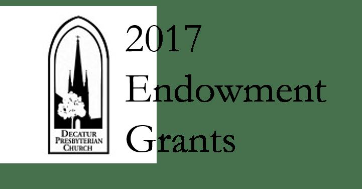 Decatur Presbyterian Church Application Period for 2017