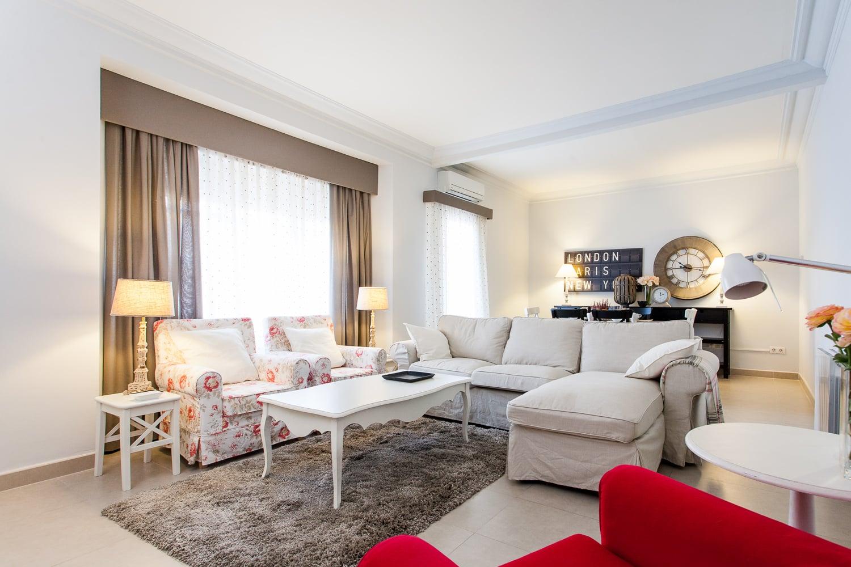 Apartamento turistico en Barcelona  Fotografo de interiores
