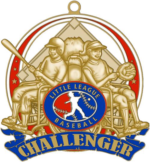 25 Little League Challenger Medal DPH Custom Pins