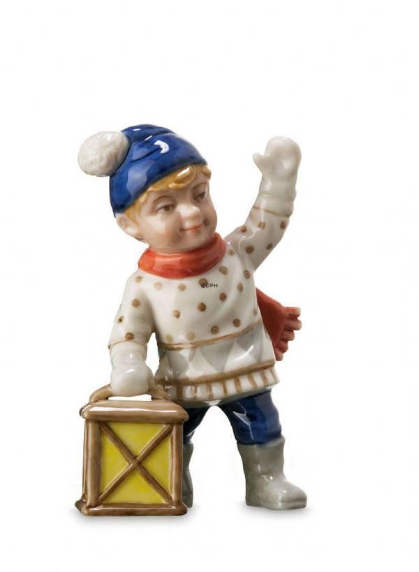 Boy With Lantern Mini Summer And Winter Children Royal