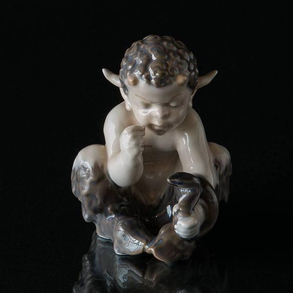 Faun And Pan Porcelain Figurines Royal Copenhagen