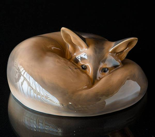 Fox Figurines And Collectibles In Decorative Porcelain