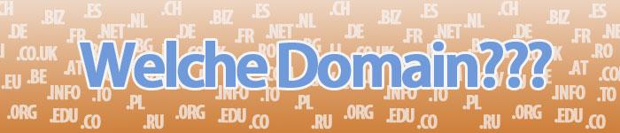 Welche Domain für meinen Online Shop