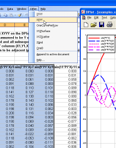 Excel add in also dplot windows software for users to create presentation rh