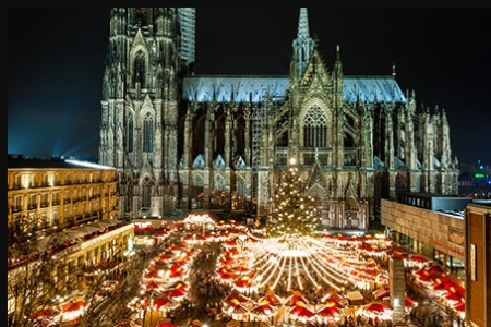 Cologne, Monschau and Merode Castle Christmas Markets