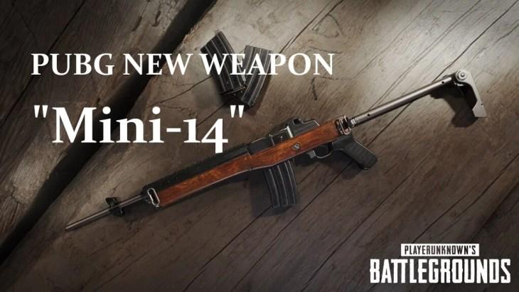 【PUBG】新武器「Mini-14」の性能、ダメージ、装着可能アタッチメント(2017/09/17更新)